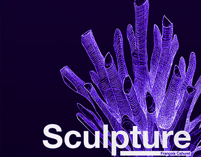 Poster - F Cahurel Sculpture exposition
