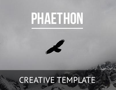 Phaethon — Modular Grid Template