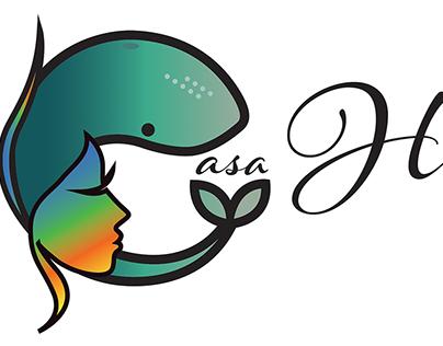 Beach House Logo Design