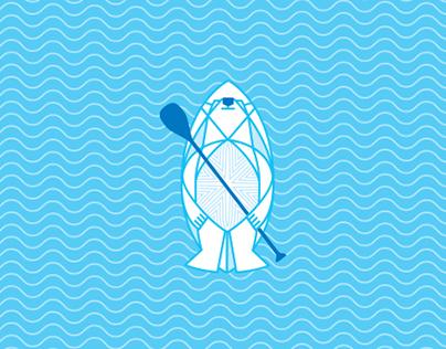 Blue Wave Sup