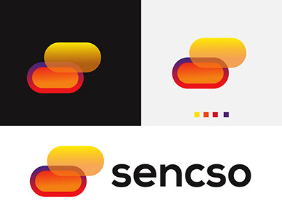 modern s letter logo