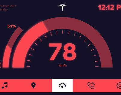 Car Interface UI Design
