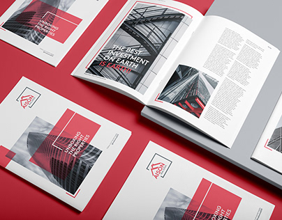 Company Profile Brochure | Real Estate & Property
