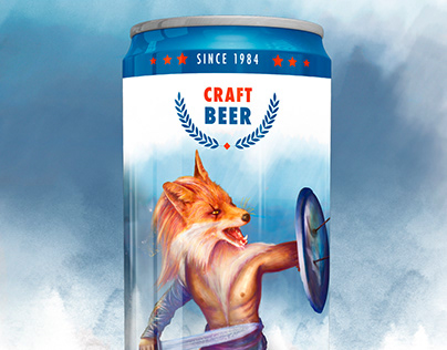 Visual Design | Old Fox Beer Project