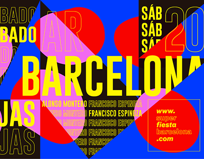 Barcelona Party Flyers 2018
