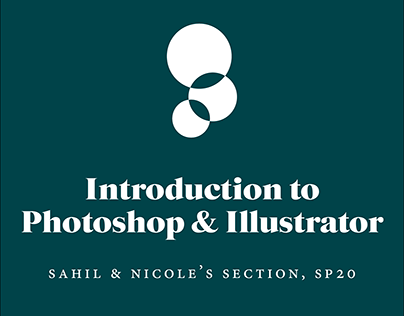 Intro to PS/AI SP20: Sahil's Section