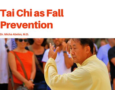 Tai Chi as Fall Prevention