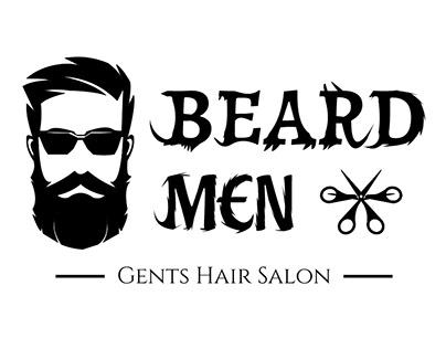 Beard Men Logo Design