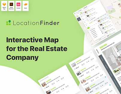Interactive Map for Real Estate Company in Australia