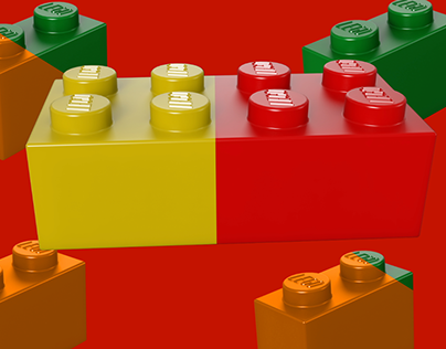LEGO splicing intro video