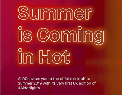 ALDO | PR Invite: London Nights