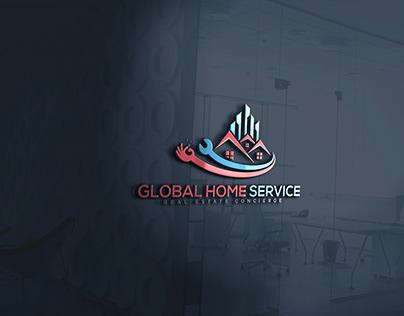 Global Home Service - Logo Design