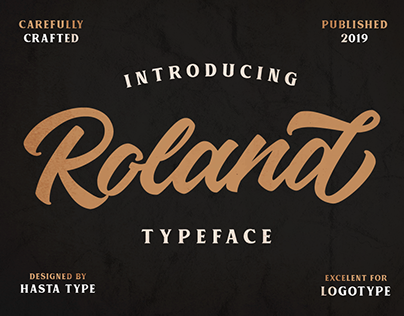 FREE FONT | Roland Typeface