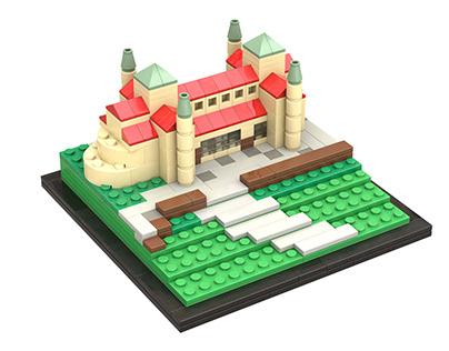 St. Michael's Church, Hildesheim - Lego