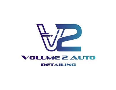 V2 Volume Logo Design