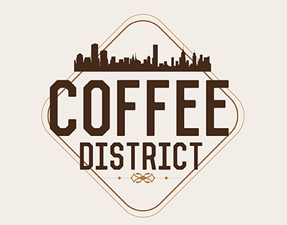 Logotipo Coffee District