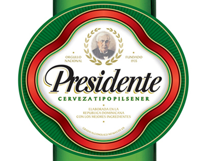 PRESIDENTE BEER BRAND REFRESHMENT