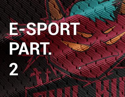 E-SPORT PART. 2 (TEAM LOGOS)