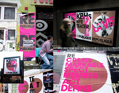 Republique Theatre - Corporate Visual Identity