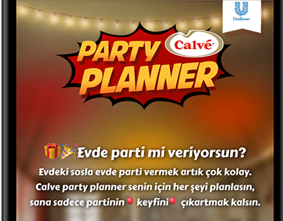 Calve | Party Planner
