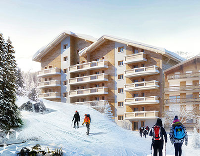 Flats by the Ski slope