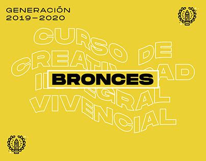 BRONCES: Curso de Creatividad Integral Vivencial 19-20