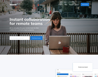 Collaboration for teams full page | 2021.07.18
