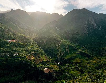 Beautiful views of Spain