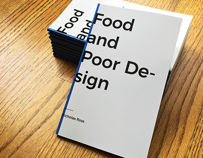 Food and Poor Design: A Book You Can Buy