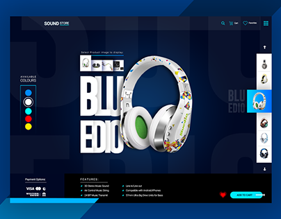 Headphone Product Page
