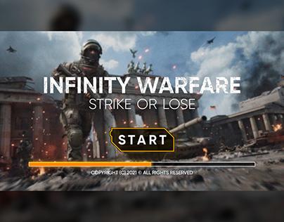 Ui Design for fictional game Infinity Warfare.
