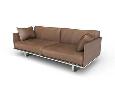 3D Sofa Couches Modeling and Rendering