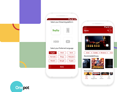 ONEPOT android presentation