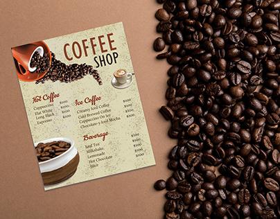CREATIVE COFFEE MENU DESIGN