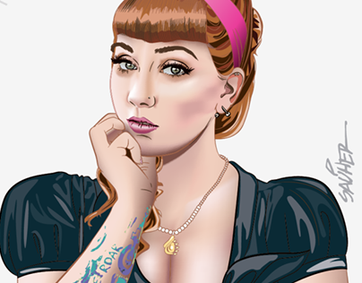Veronica Virgo / Pin up Model