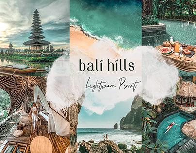 Bali Hills Lightroom Preset