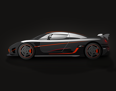 Koenigsegg Agera RS Illustration