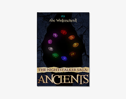 Book Cover - The Nightstalker Saga: Ancients // Abe W.