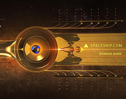 Visual concept for Spaceship.com