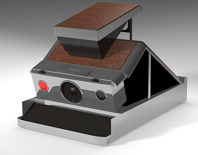3D Model Polaroid SX-70