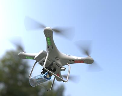 Drone DJI phantom 3 - Birth announcement