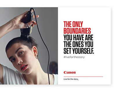 Canon - Brand Toolkit & Campaign