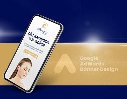 Miss Flowers Google AdWords Banner Design