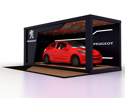 PEUGEOT CONTAINER STAND