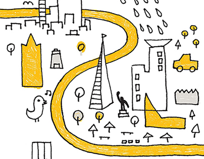 Tech Illustrations for University of Waterloo Magazine