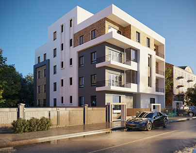 Residential building in NEWCAIRO