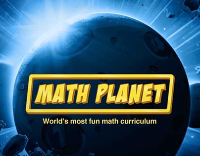 Math Planet: Game based Math Curriculum