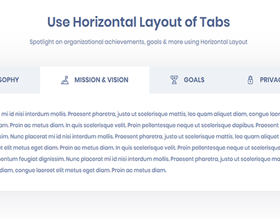 Advanced Tabs for Elementor by essential