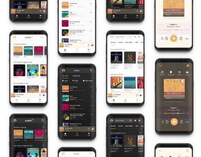 Amazon Audible UX Redesign