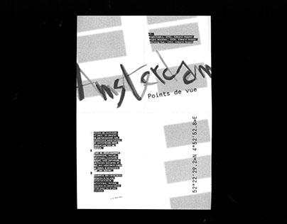Amsterdam points of view - Fanzine